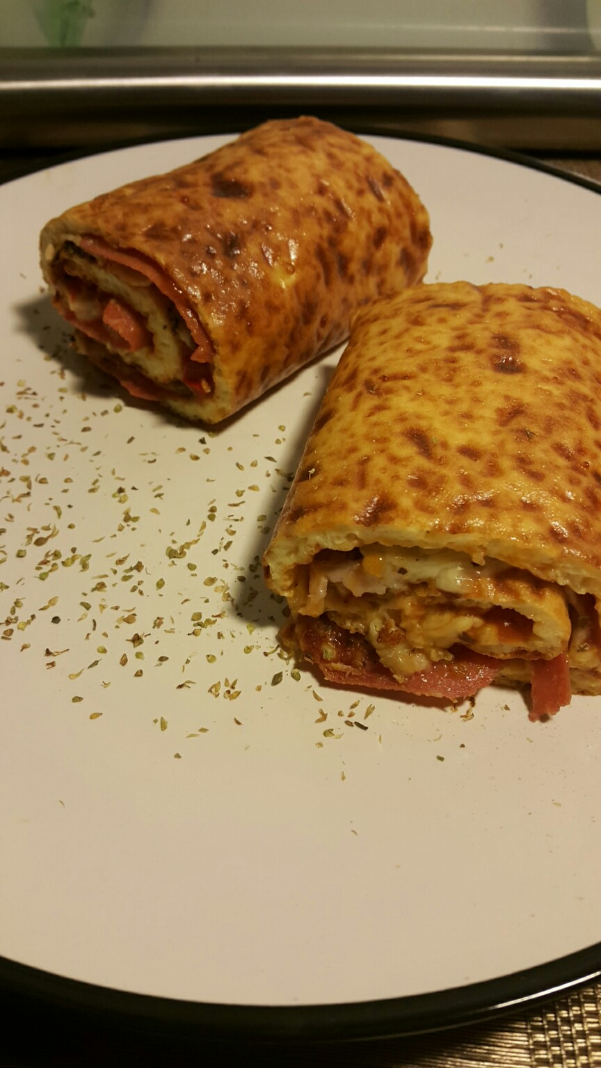 Pizza Rolle
