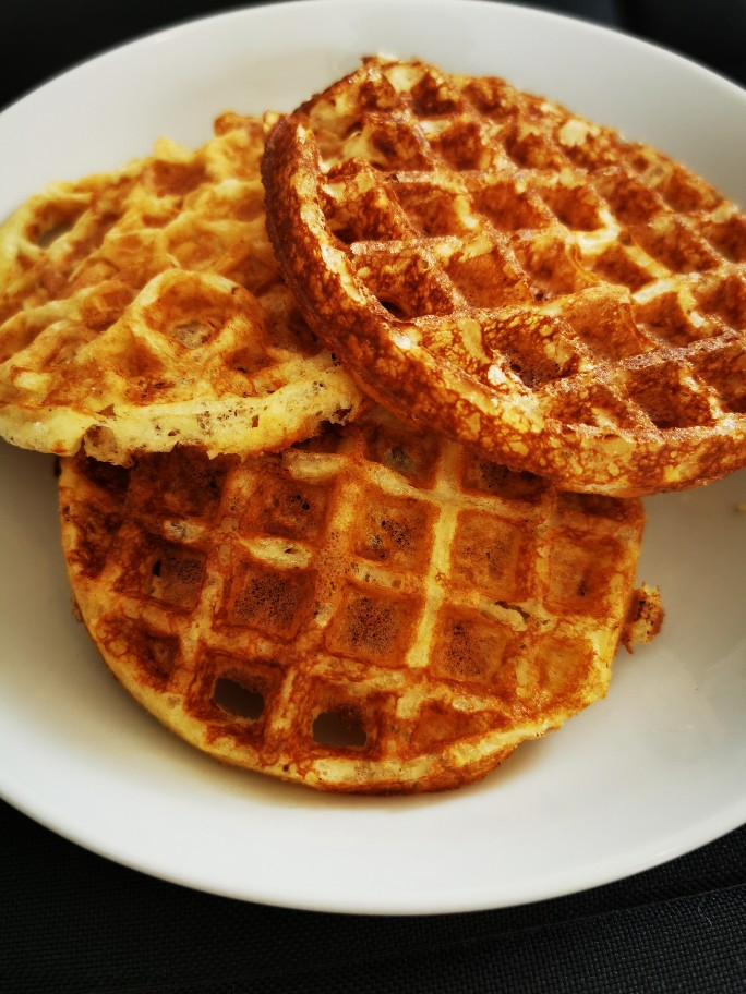 Low Carb Protein Waffeln